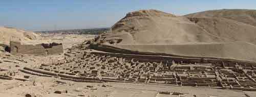 deir el media Thebes - temple of hatshepsut deir el bahri temple mortuary temple of queen  hatshepsut the mortuary temple of hatshepsut (c1478/72-1458 bce) dates.