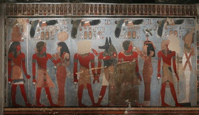 Tomb of Amenhotep III - Egypt
